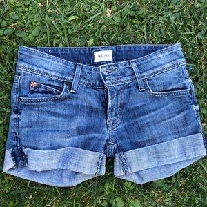 Hudson 2 button front shorts